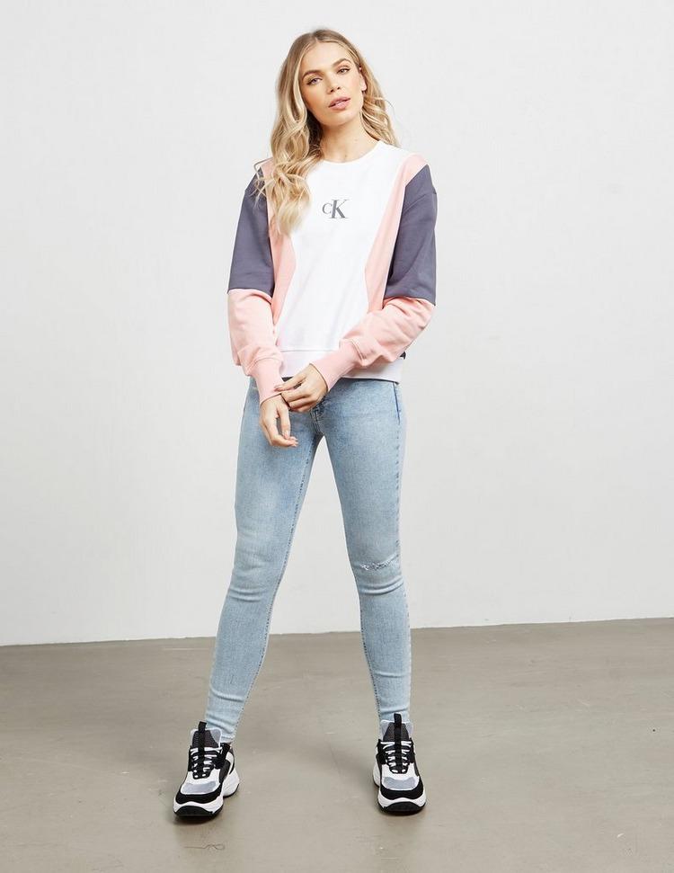 Calvin Klein Jeans Block Colour Sweatshirt