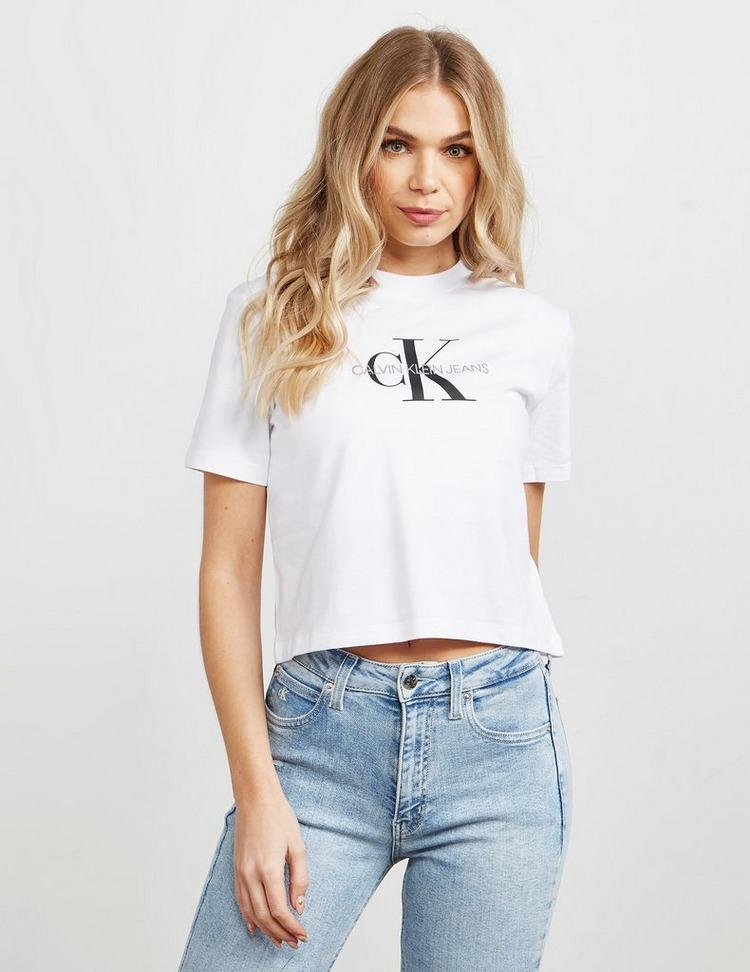 Calvin Klein Jeans Monogram Crop T-Shirt