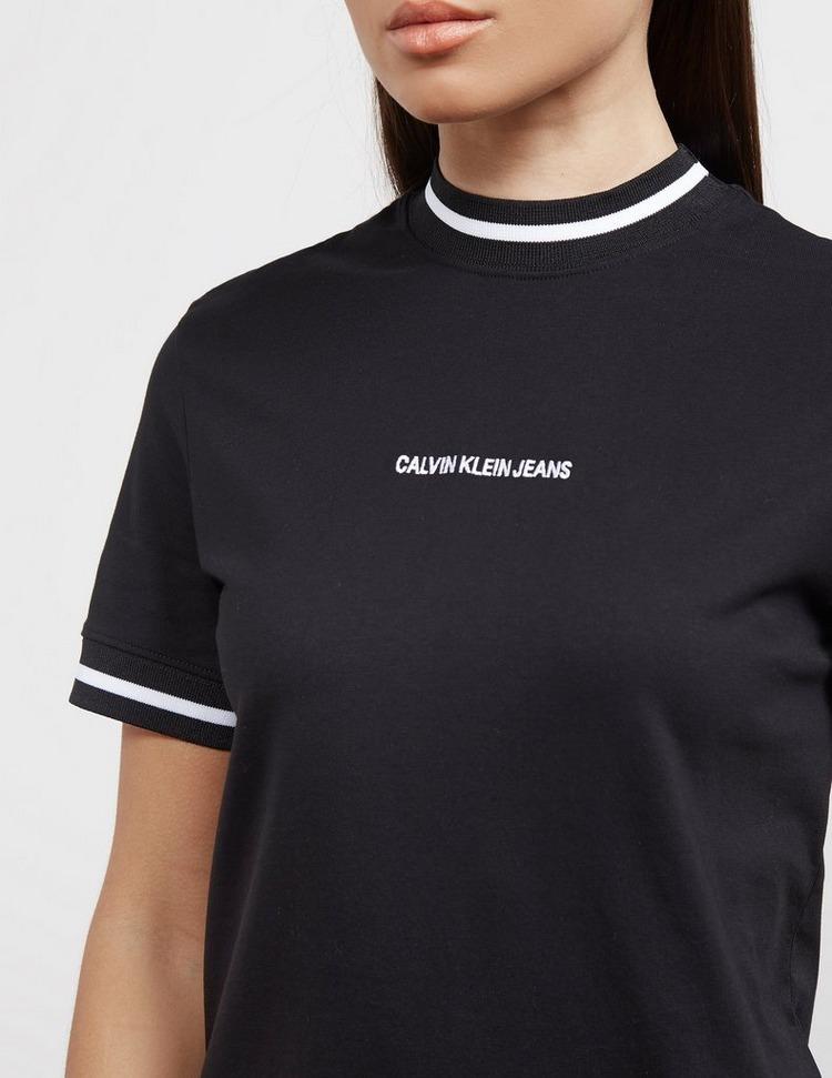 Calvin Klein Jeans Tipped Cuff T-Shirt Dress