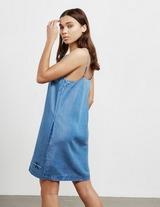 Calvin Klein Jeans Flared Denim Slip Dress