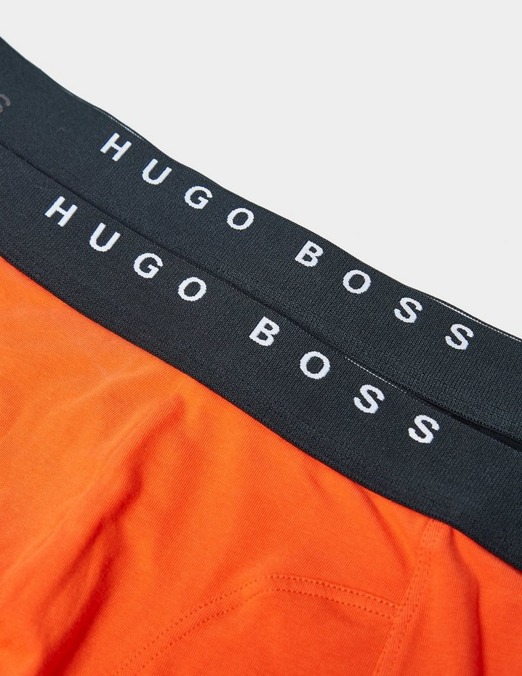BOSS 2 Pack Contrast Boxer Shorts