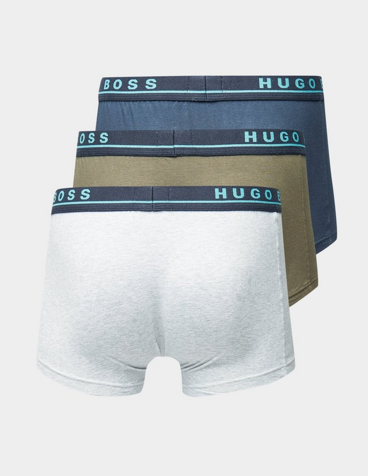 BOSS 3 Pack Contrasting Boxer Shorts