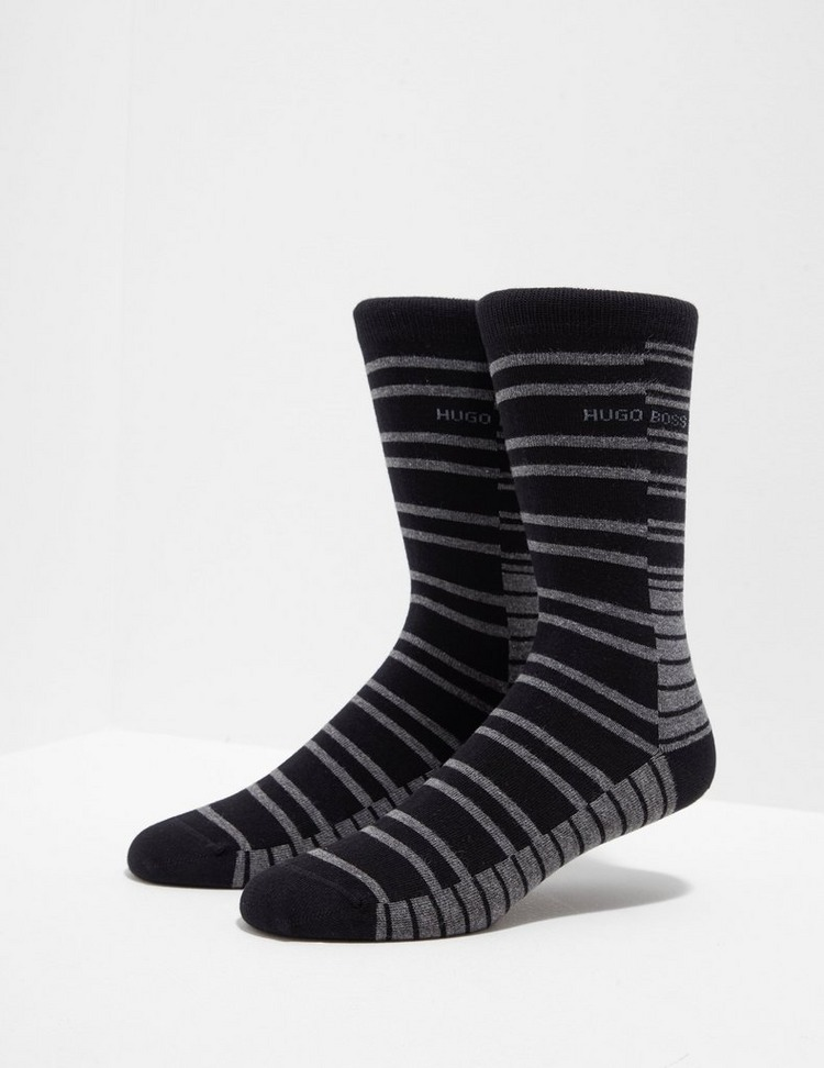 BOSS Stripe Crew Socks