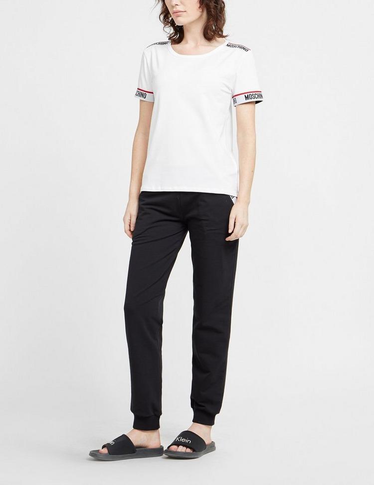 Moschino Tape Basic Short Sleeve T-Shirt
