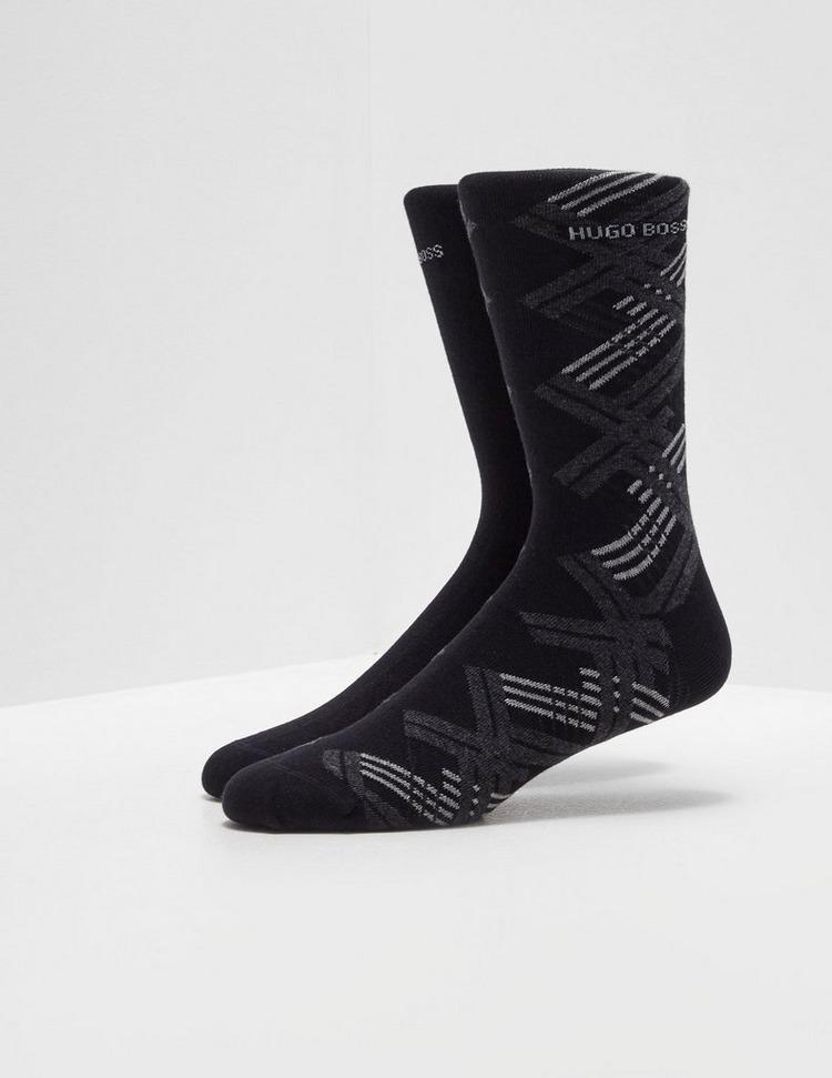 BOSS 2 Pack Argyle Socks