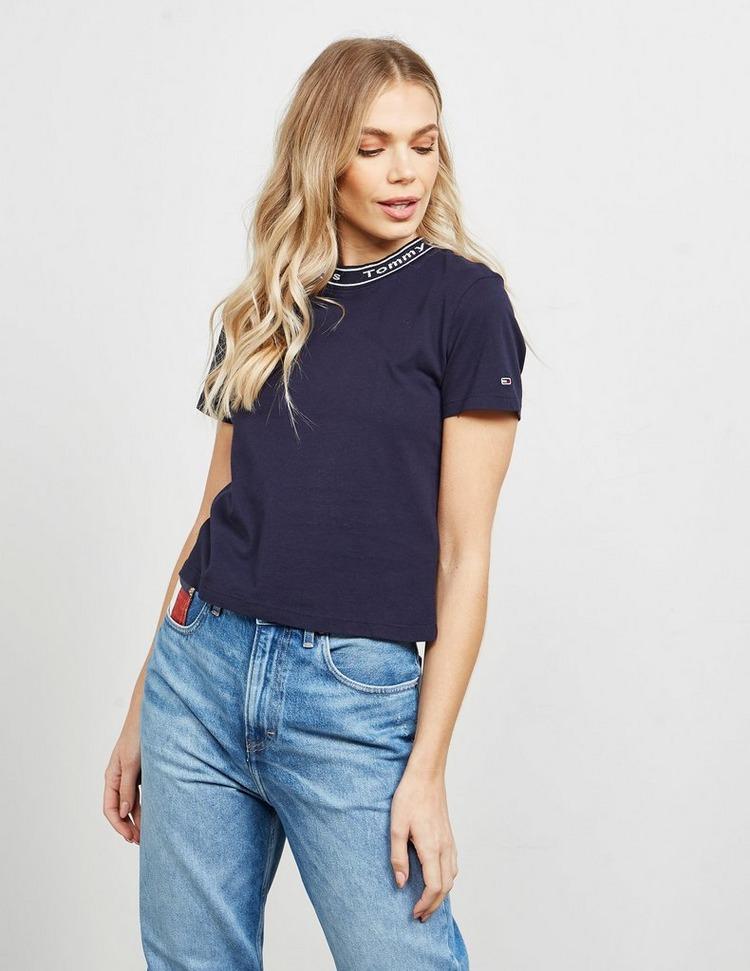 Tommy Jeans Neck Logo T-Shirt
