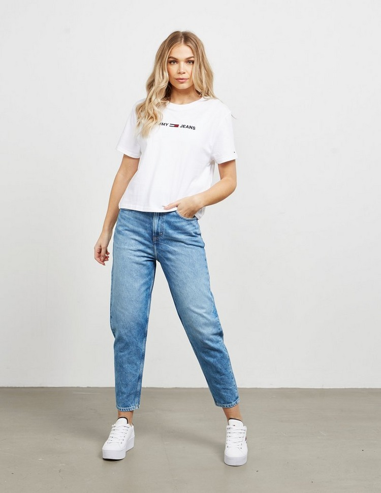 Tommy Jeans Modern Short Sleeve Crop T-Shirt