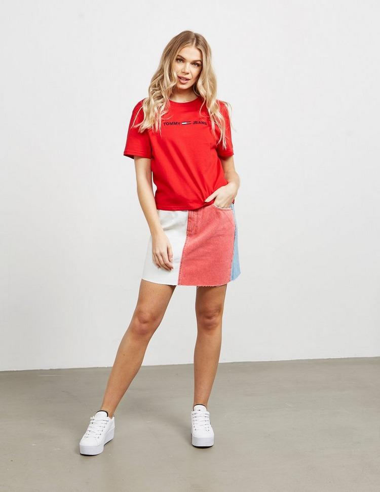 Tommy Jeans Modern Short Sleeve Crop T-Shirt