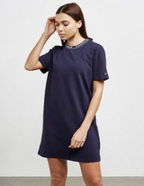 Tommy Jeans Brand Neck T-Shirt Dress