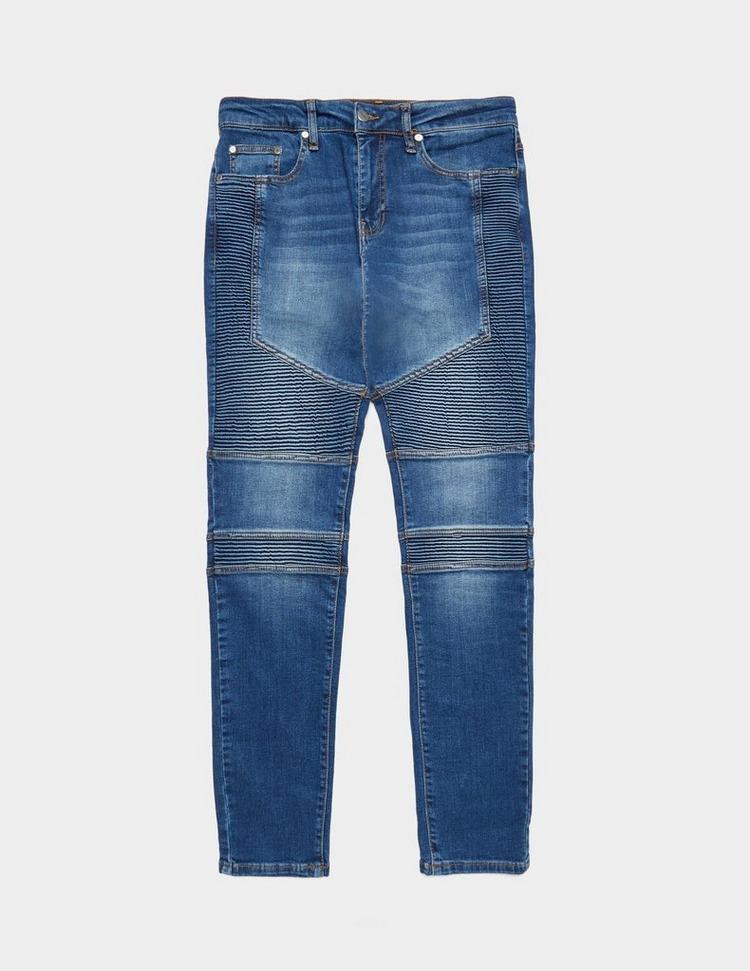 Represent Biker Tonal Skinny Jeans - Exclusive