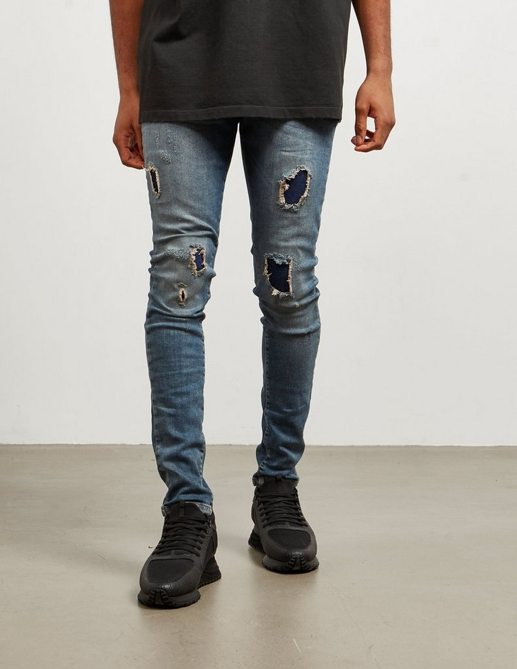 Represent Ripped Slim Jeans - Exclusive
