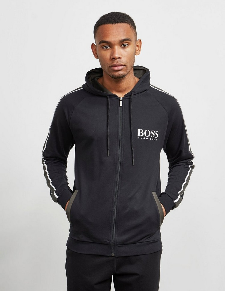 BOSS Authentic Panel Full Zip Hoodie