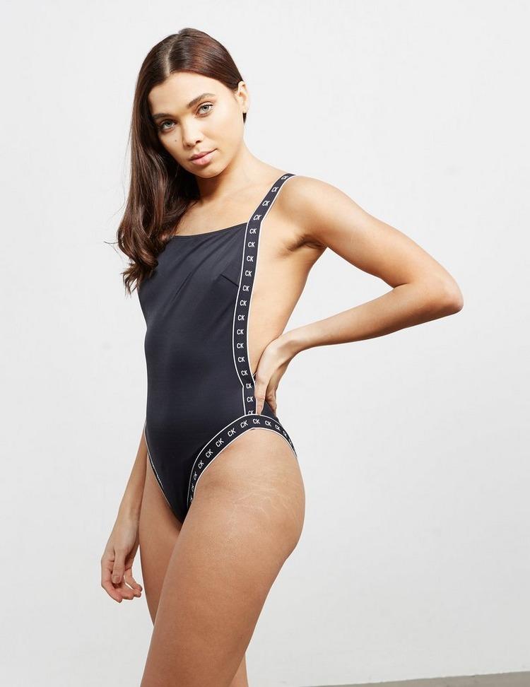 Calvin Klein Swim Tape Swimming Costume
