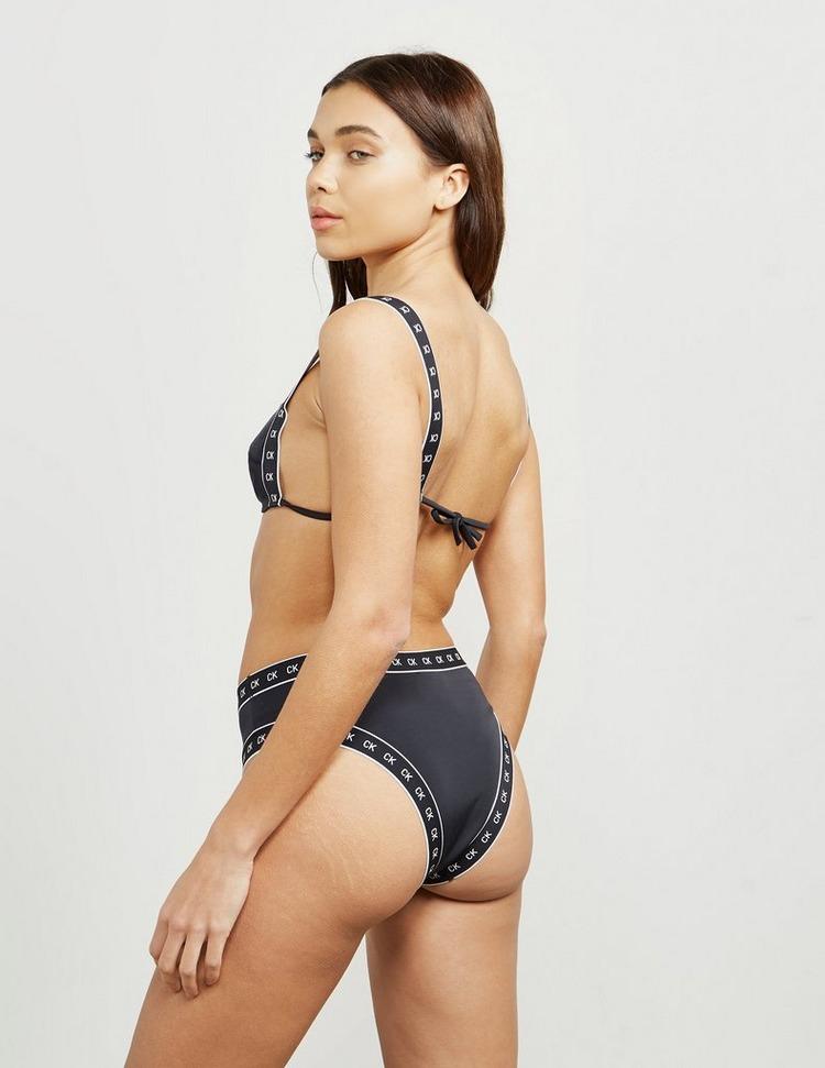 Calvin Klein Swim Tape Bandeau Bikini Top