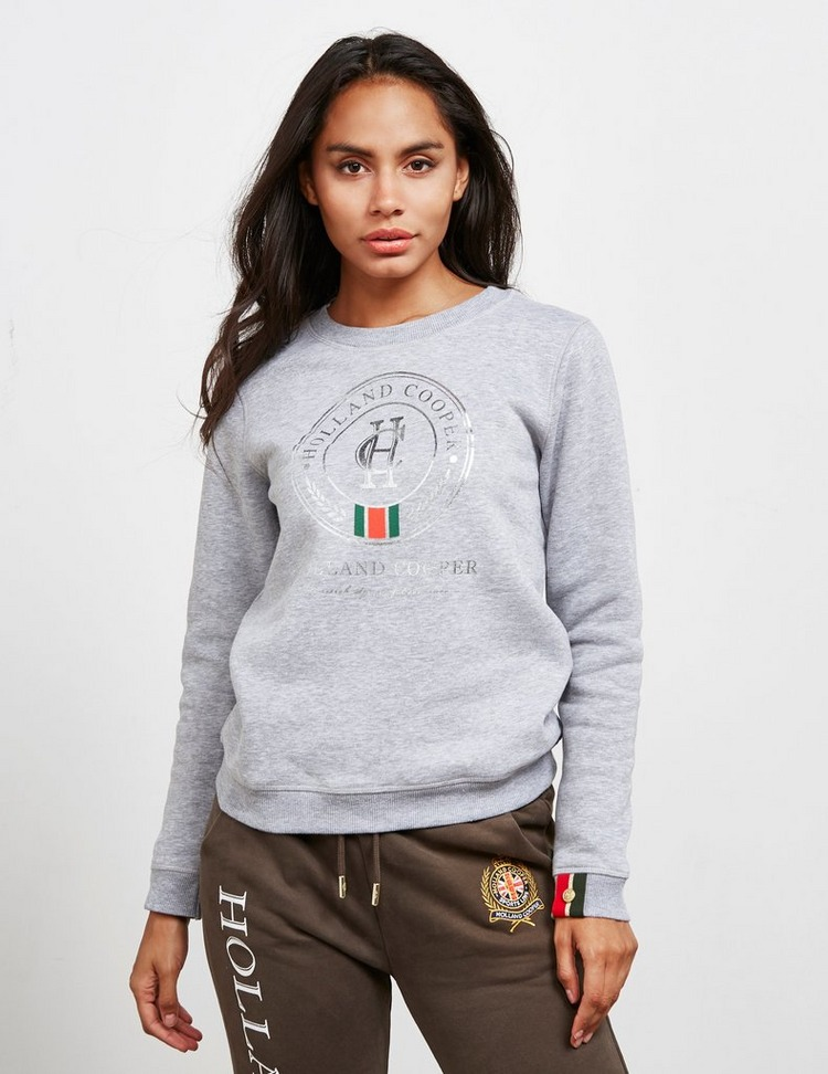 Holland Cooper Classic Crest Sweatshirt