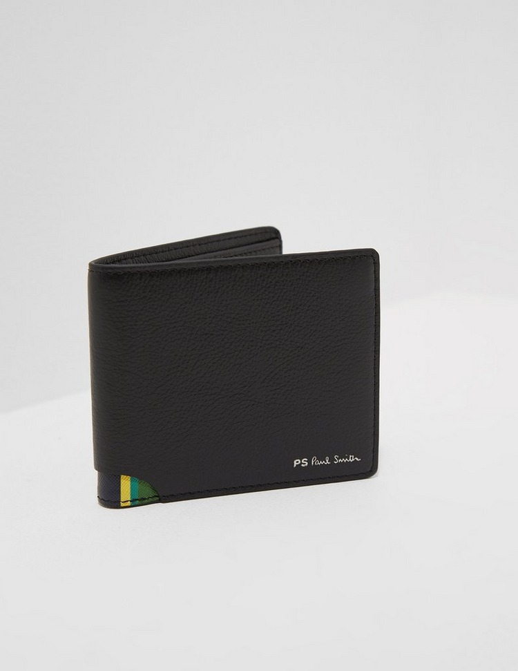 PS Paul Smith Stripe Corner Leather Wallet