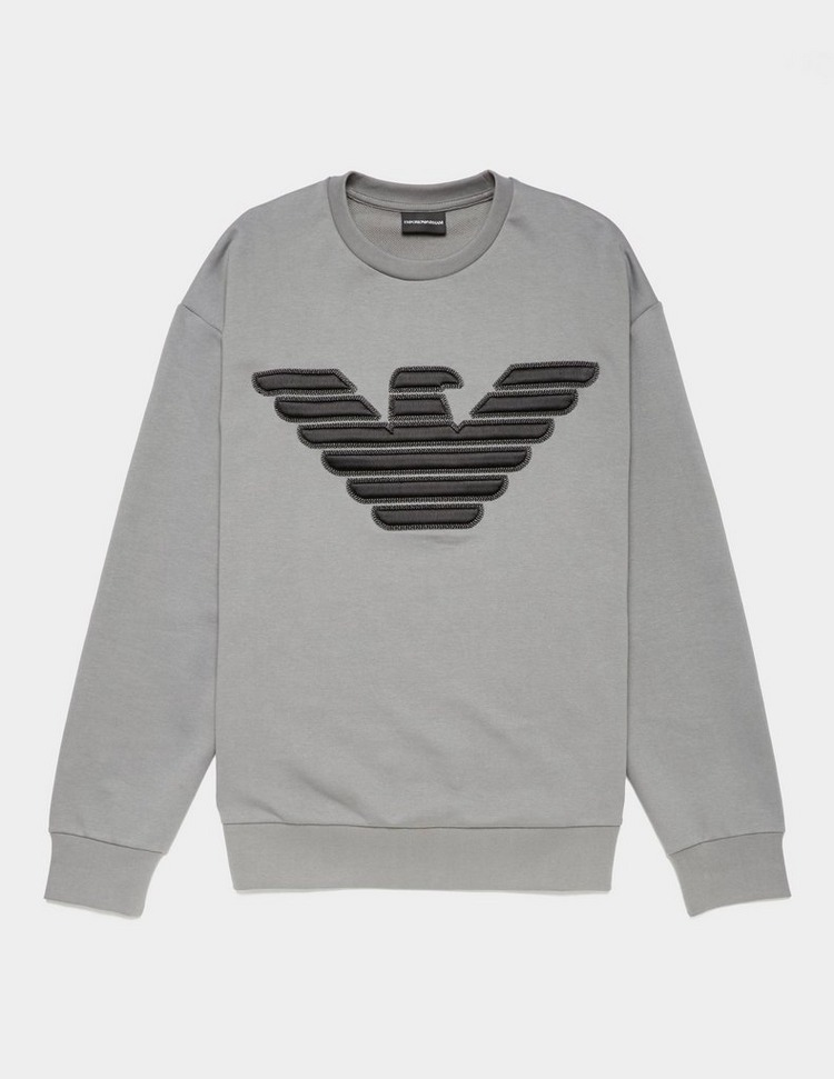 Emporio Armani Embroidered Eagle Sweatshirt