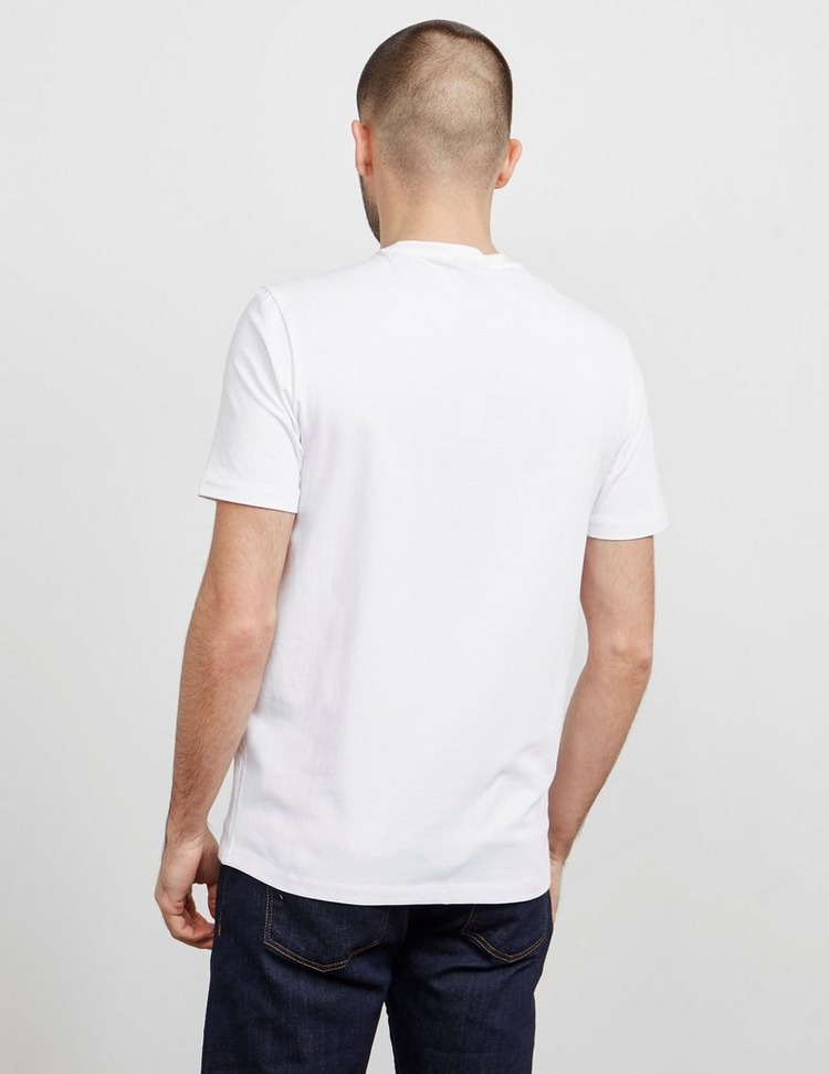 Emporio Armani Text Outline Short Sleeve T-Shirt