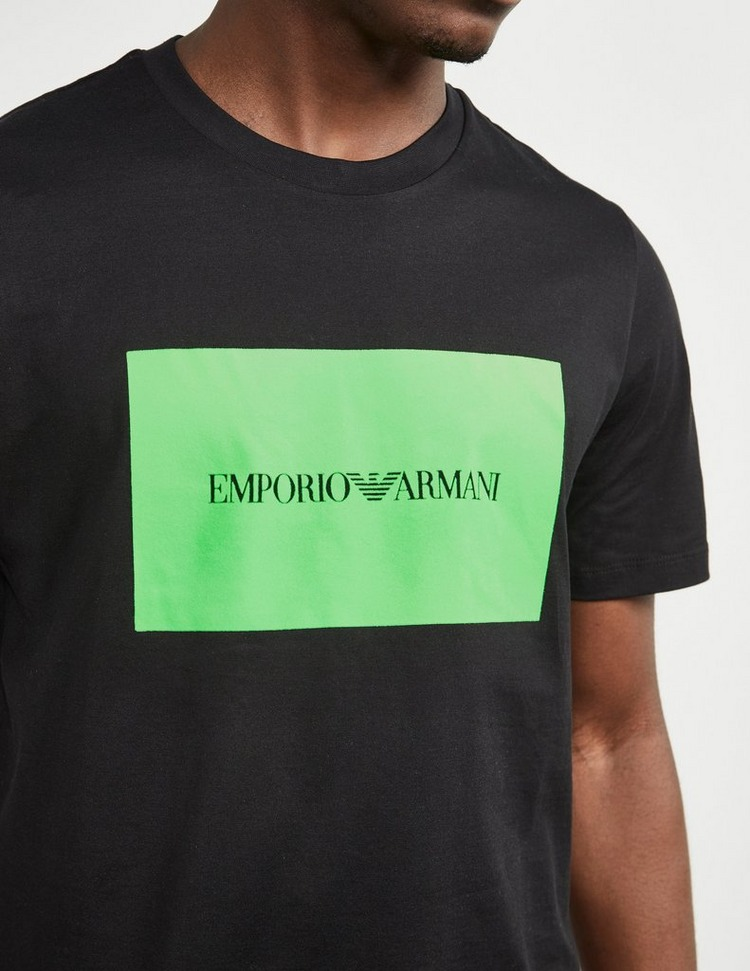 Emporio Armani Box Logo Short Sleeve T-Shirt