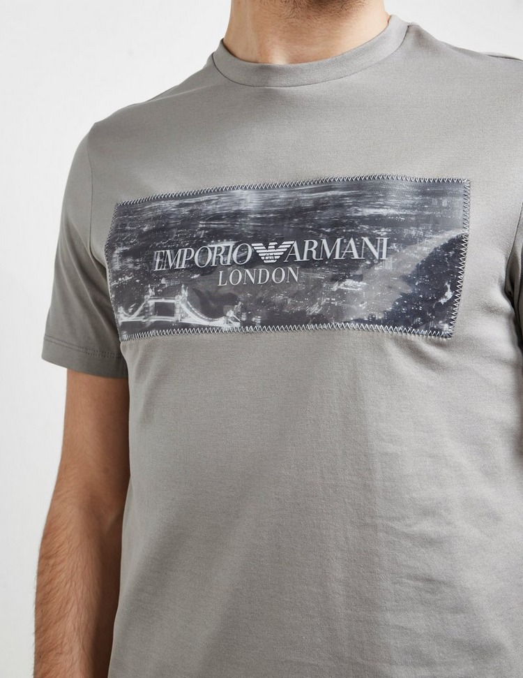 Emporio Armani Hologram Short Sleeve T-Shirt