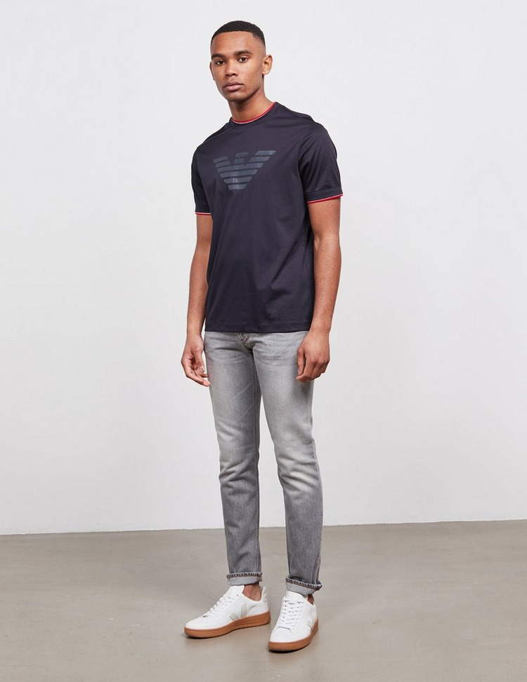 Emporio Armani Tipped Eagle Short Sleeve T-Shirt