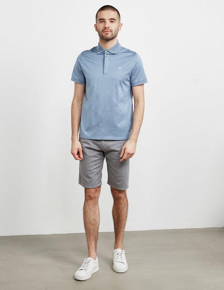 Emporio Armani Pin Dot Short Sleeve Polo Shirt