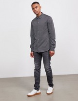 Emporio Armani All Over Jacquard Long Sleeve Shirt