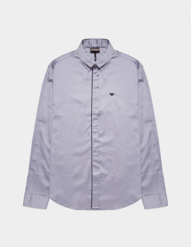 Emporio Armani Tip Placket Long Sleeve Shirt