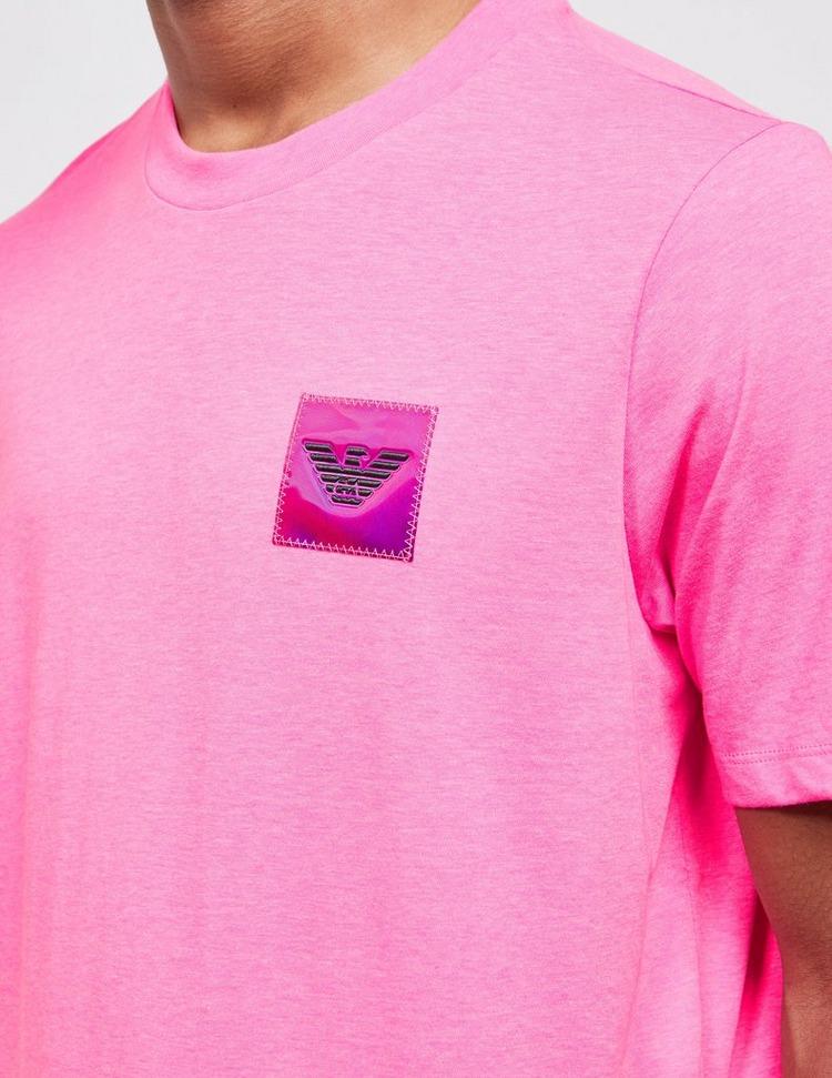 Emporio Armani Goodbye Fluorescent Patch Short Sleeve T-Shirt