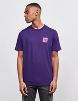 Emporio Armani Goodbye Fluorescent Patch Short Sleeve T-Shirt