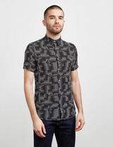 Emporio Armani All Over Print Short Sleeve Shirt