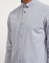 Emporio Armani Eagle Long Sleeve Poplin Shirt