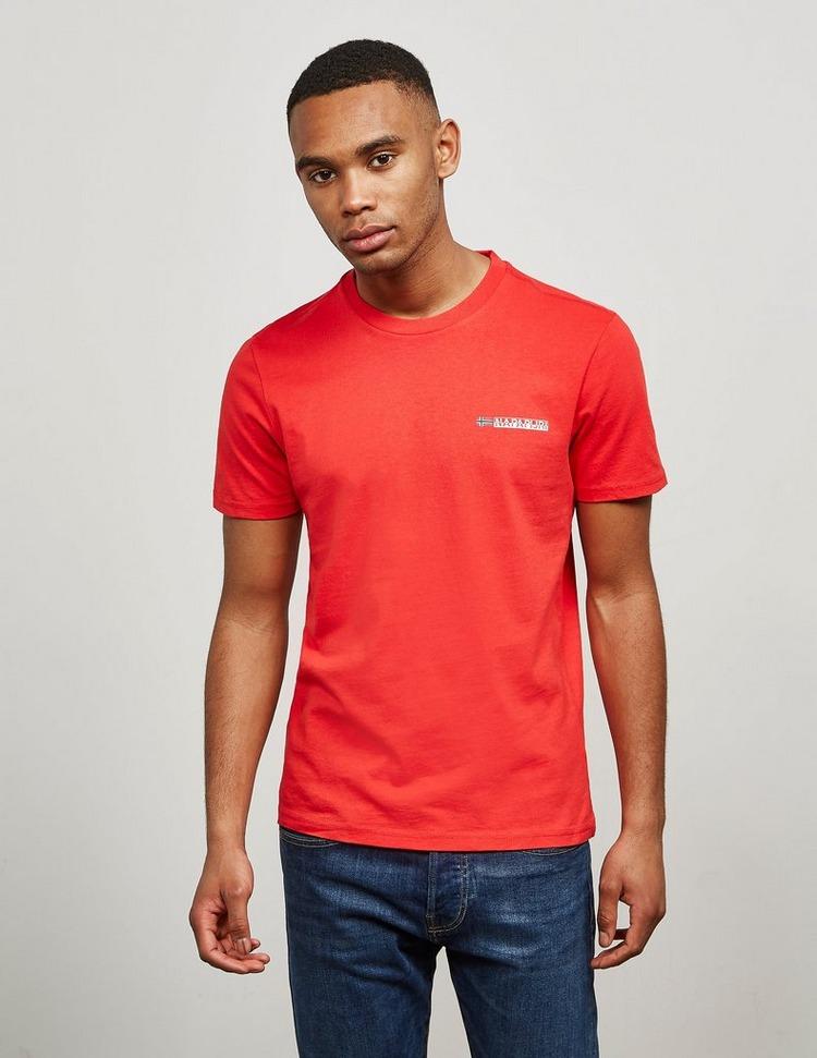 Napapijri Back Logo Short Sleeve T-Shirt