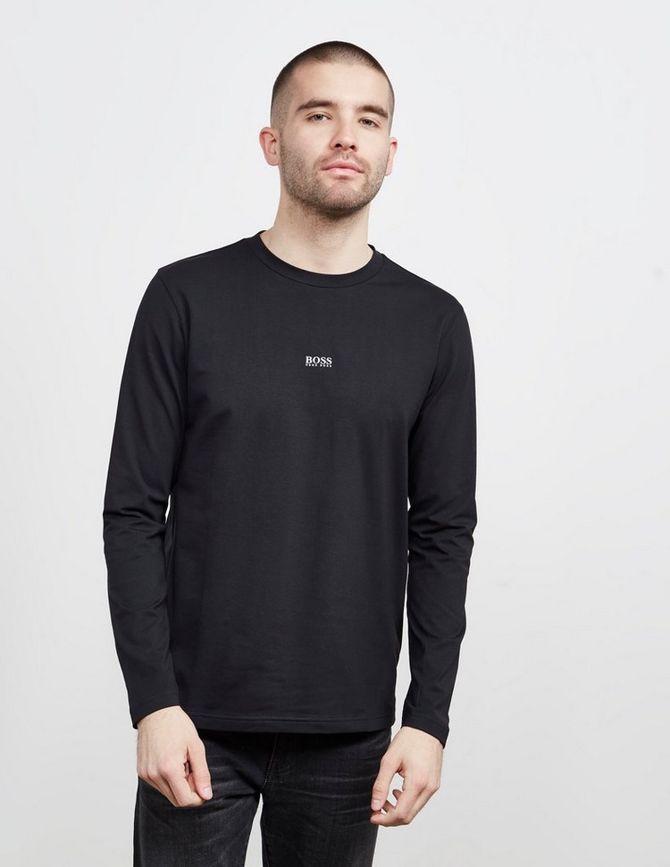 BOSS Tchark Centre Logo Long Sleeve T-Shirt