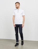 BOSS Paras Zip Short Sleeve Polo Shirt