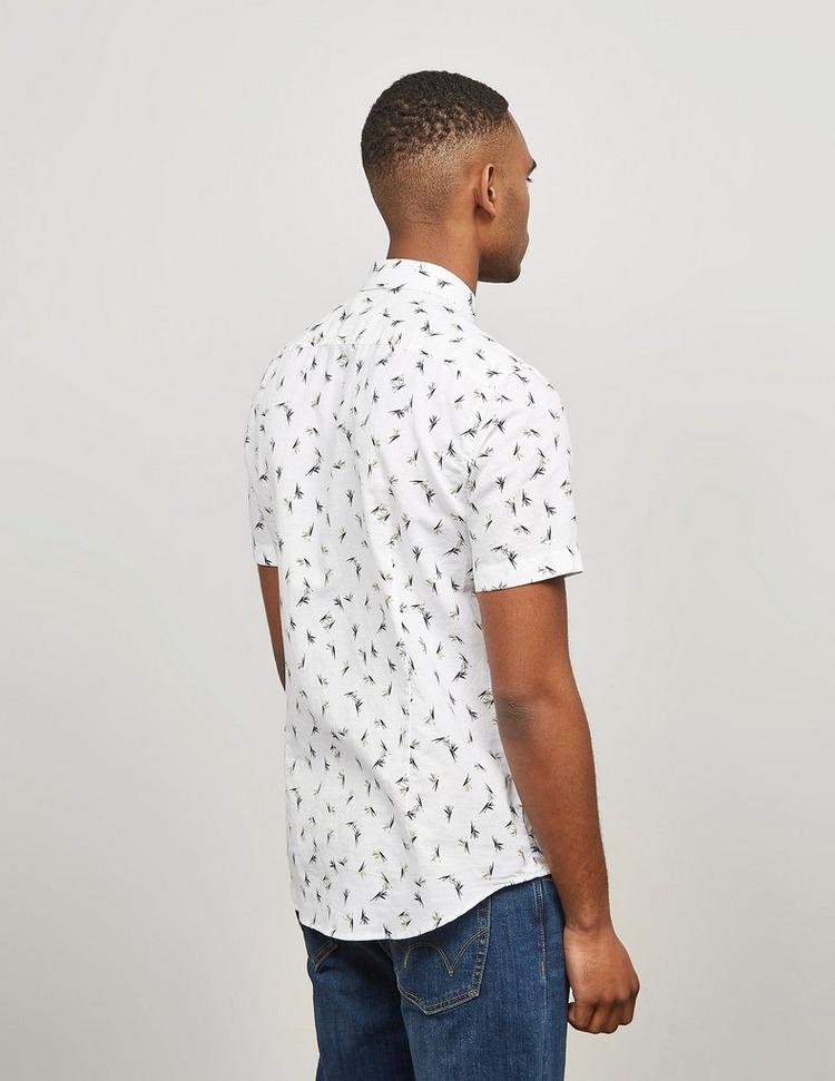 BOSS Ronn Short Sleeve Linen Shirt