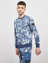 Stone Island Junior Camouflage Sweatshirt