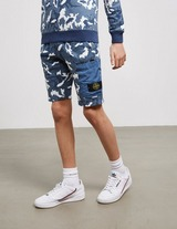 Stone Island Junior Camouflage Shorts
