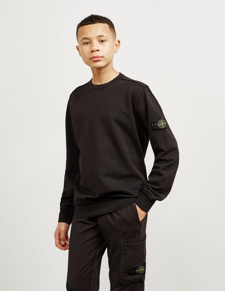Stone Island Junior Badge Crew Neck Sweatshirt