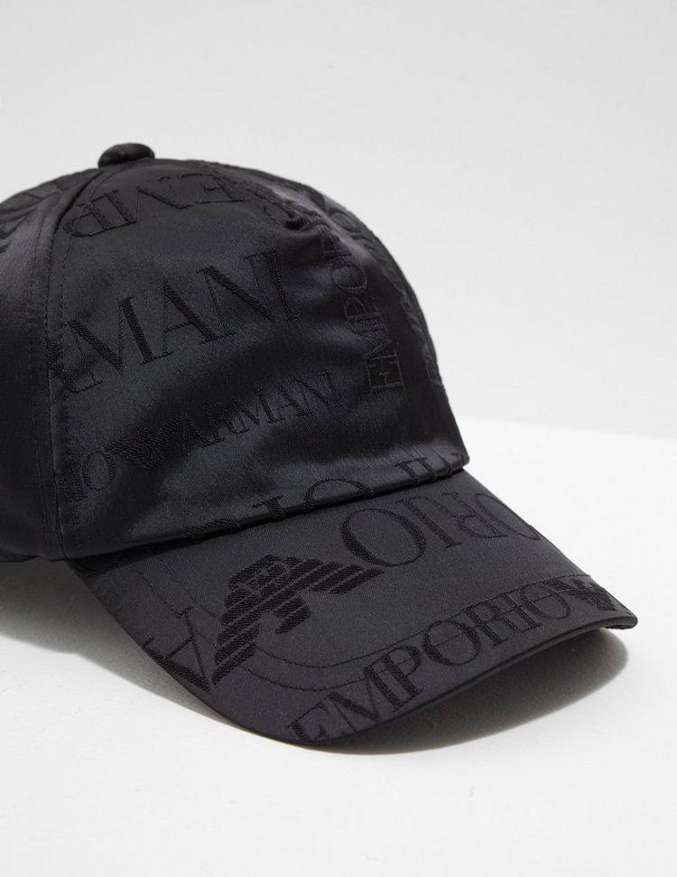 Emporio Armani Repeat Logo Cap