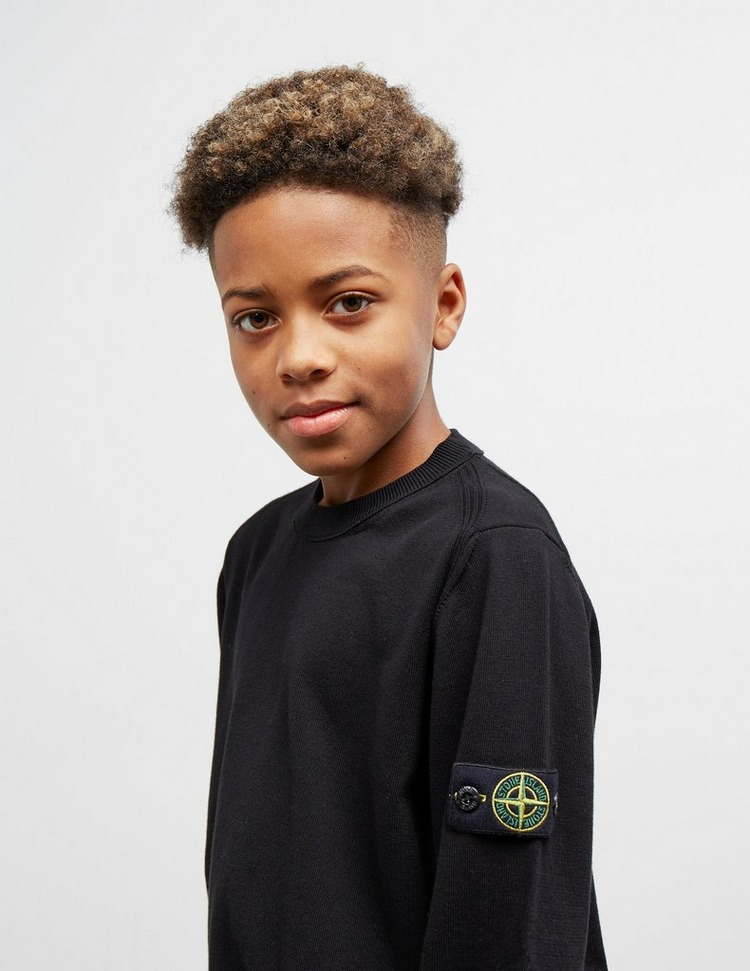 Stone Island Junior Badge Knit Jumper