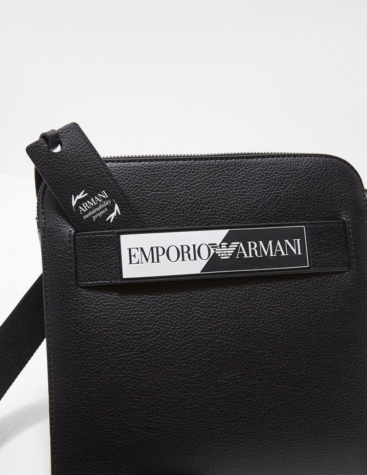 Emporio Armani Monogram Logo Crossbody Bag
