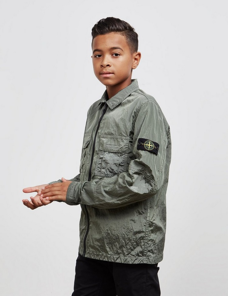 Stone Island Junior Nylon Overshirt