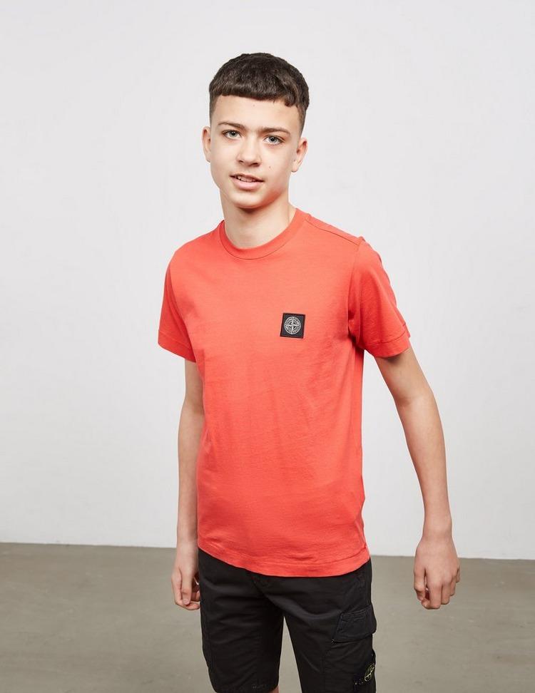 Stone Island Junior Patch Short Sleeve T-Shirt