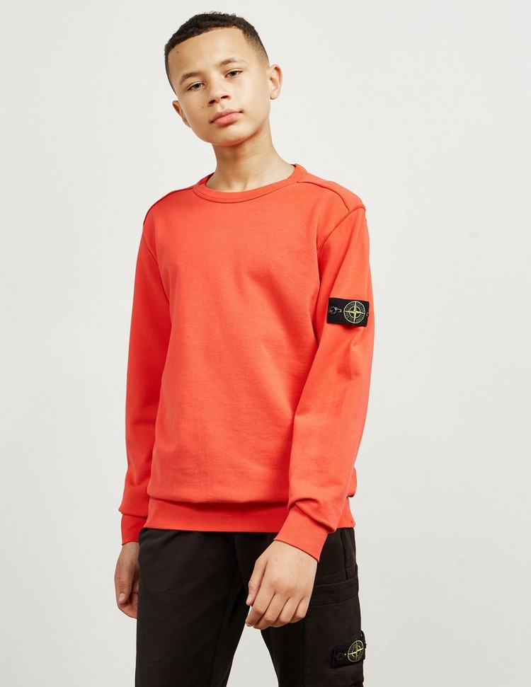 Stone Island Junior Badge Crew Neck Sweatshirt