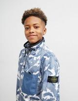 Stone Island Junior Quarter Zip Camouflage Jacket