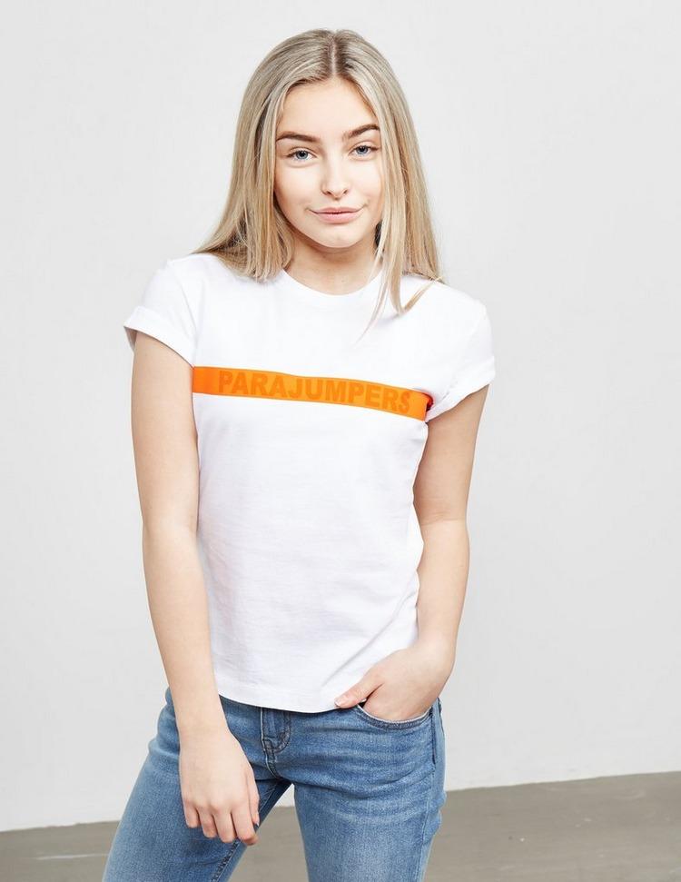 Parajumpers Stripe Logo Short Sleeve T-Shirt