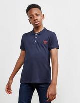 GUESS Small Logo Short Sleeve Polo Shirt