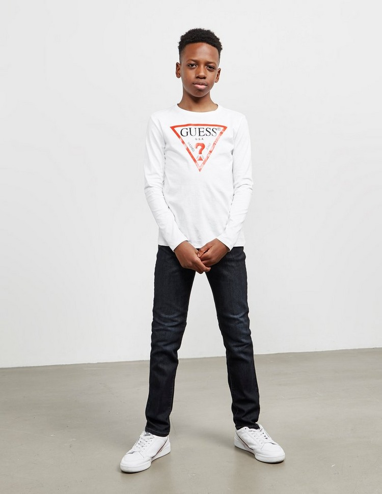 Guess Triangle Long Sleeve T-Shirt
