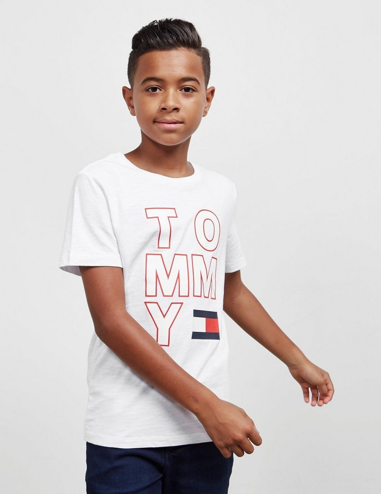 Tommy Hilfiger Logo Flag Short Sleeve T-Shirt